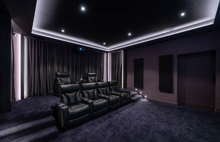 Custom Home Cinema Gold Coast 2
