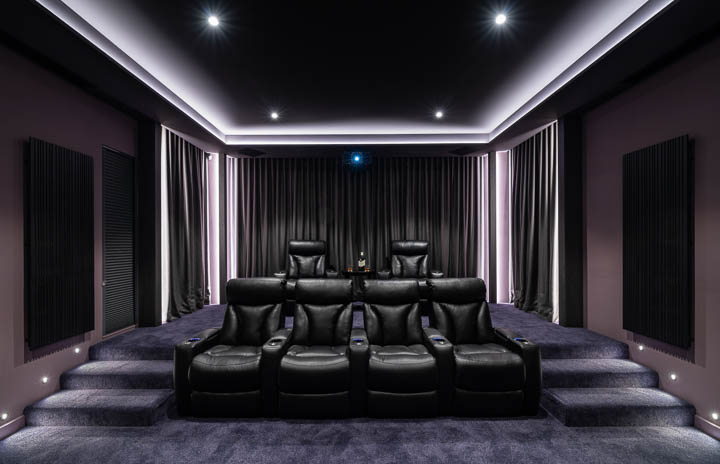 Custom Home Cinema Gold Coast 3