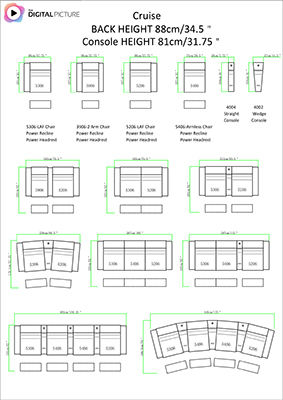 Cruise Layout and Dimension